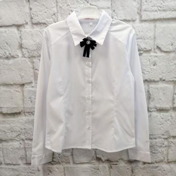 """Блузка """"7 Одёжек 168"""" белая"""