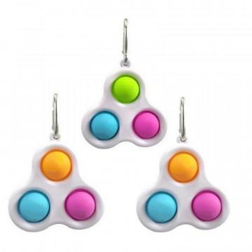 Брелок-игрушка Simple Dimple тройной