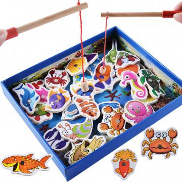 """Магнитная рыбалка """"Морские обитатели"""""""