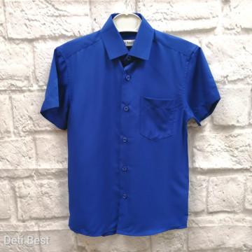 """Рубашка """"FELIPE"""" синяя"""