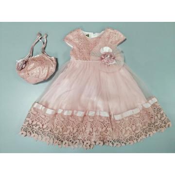 Платье Eray Kids 135 лиловое