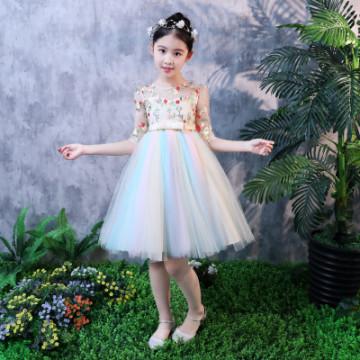 """Платье """"Цветочная радуга"""""""