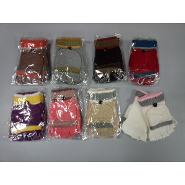Перчатки-варежки 555