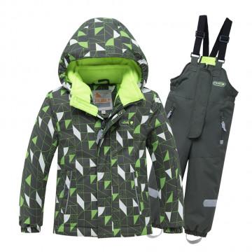 Костюм зимний Valianly 8911 зелёный