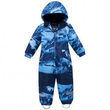 Комбинезон зимний Valianly 8907 голубой