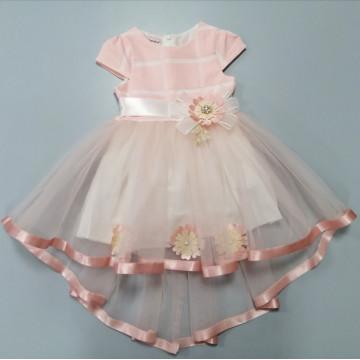 """Платье """"Нежный цветок"""" персиковое"""