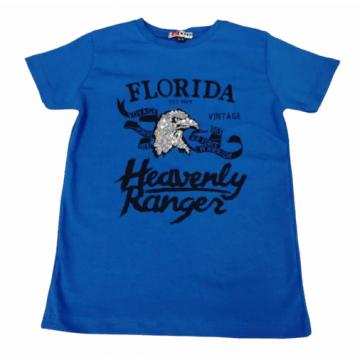 """Футболка """"FLORIDA"""" синяя"""