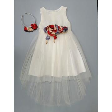 Платье Eray Kids 4004 белое