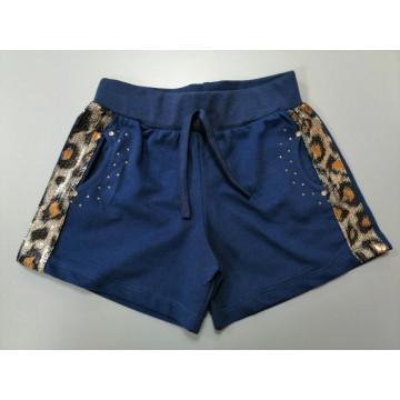 """Шорты """"Леопард"""" цвет синий"""