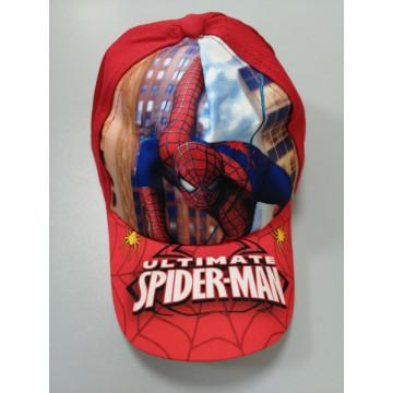 "Бейсболка ""Spider-Man"" красная"