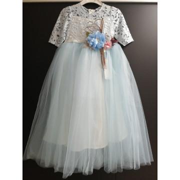 "Платье ""Облако"" голубое"