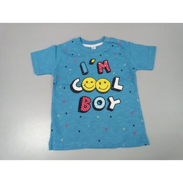 "Футболка ""Cool boy"" голубая"