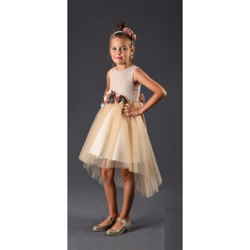 Платье Eray Kids 4004 бежевое