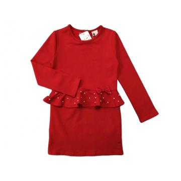 """Платье """"Леди 650"""" красное"""