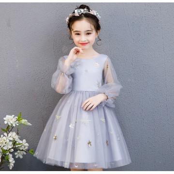 """Платье """"Снежинка"""" серое"""