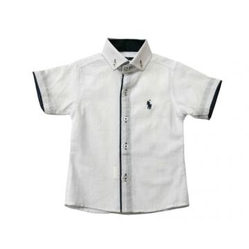 """Рубашка """"Всадник"""" белая"""