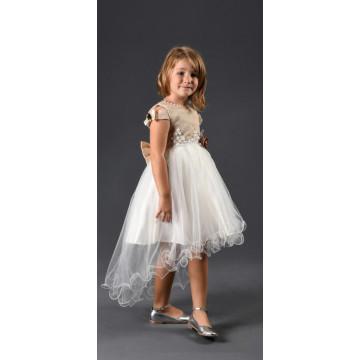 Платье Eray Kids 70 бежевое