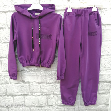 """Костюм """"ROZA"""" фиолетовый"""