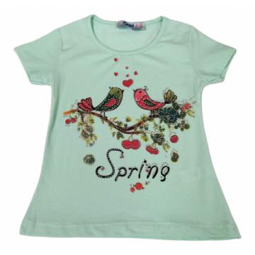 """Футболка """"Spring"""" мятная"""