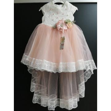 """Платье """"Персиковый жемчуг"""""""