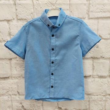"""Рубашка """"Fashion"""" голубая"""