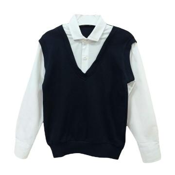 """Рубашка """"Life Style"""" темно-синяя"""