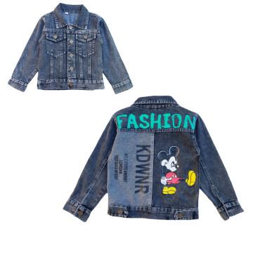 """Джинсовый пиджак """"Fashion"""" серый"""