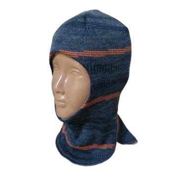 """Шапка-шлем """"Бриз"""" синяя"""