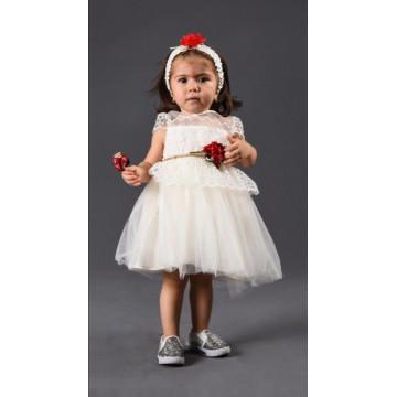 Платье Juliet Girls 4011 молочное