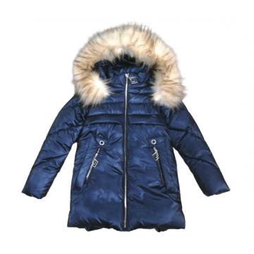 """Куртка зимняя """"FASHION N-04"""" синяя"""