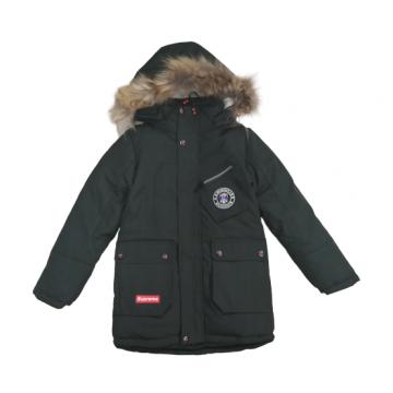 "Зимняя куртка ""Royal"" тёмно-зелёная"