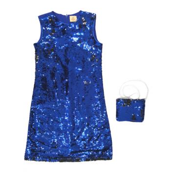 """Платье """"Exclusive"""" синее"""