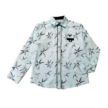 """Рубашка """"Lumina 5076"""" светло-голубая"""