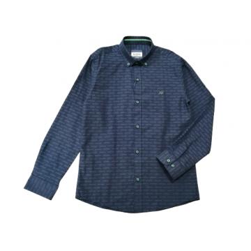 "Рубашка ""AW"" тёмно-синяя"
