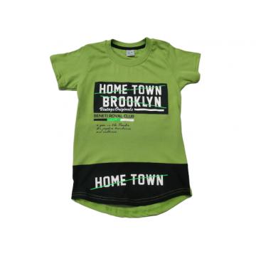 """Футболка """"Home Town"""" зелёная"""