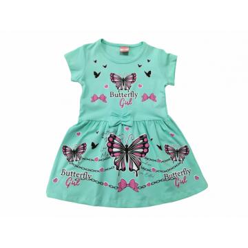"Платье ""Butterfly Girl"" бирюзовое"