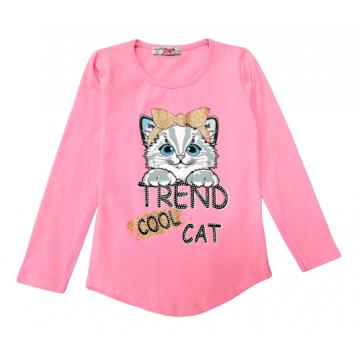 "Туника ""Cool cat"" розовая"