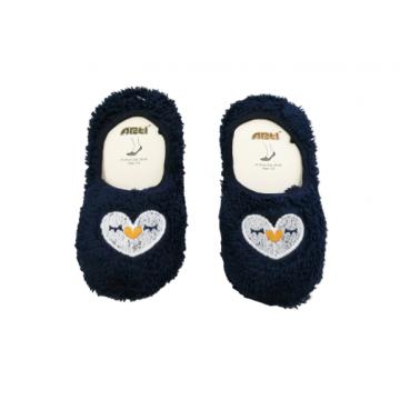"""Плюшевые носки-тапочки Arti """"850001"""" тёмно-синие"""