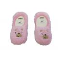 """Плюшевые носки-тапочки Arti """"850001"""" розовые"""