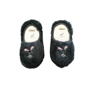 """Плюшевые носки-тапочки Arti """"850001"""" серые"""