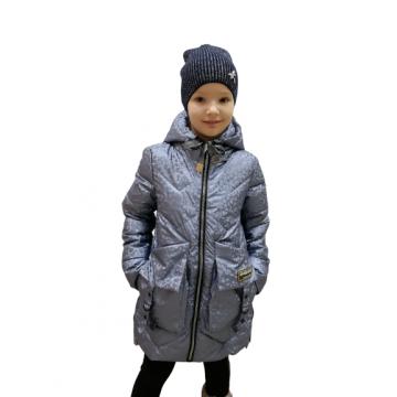 """Куртка """"Mazhuand 1207"""" голубая"""