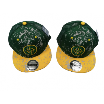"""Бейсболка """"Hip-Hop"""" зелёная"""