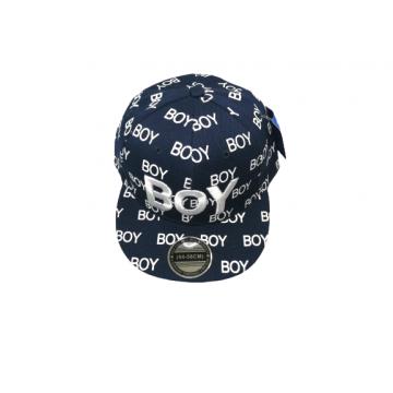 """Бейсболка """"BOY"""" темно-синяя"""