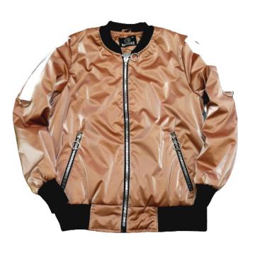 """Куртка """"Like"""" тёмно-пудровая"""