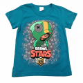 "Футболка ""B. STARS 1"" бирюзовая"