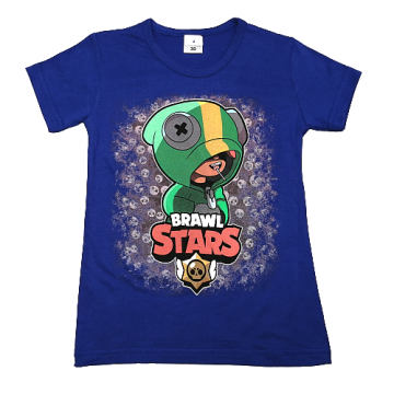"""Футболка """"B. STARS 1"""" синяя"""