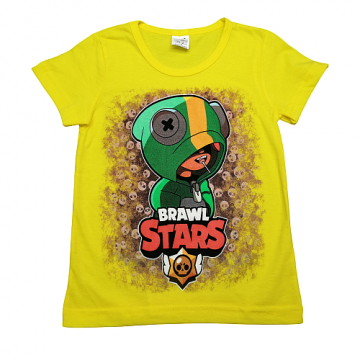 "Футболка ""B. STARS 1"" жёлтая"