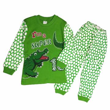 "Пижама ""Крокодил"" зеленая"