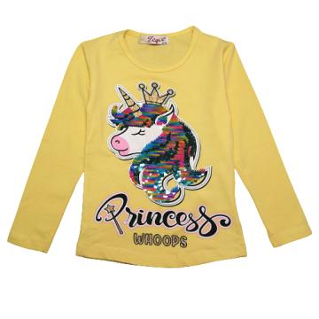 """Лонгслив """"Princess 1306"""" желтый"""
