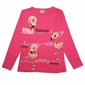 """Лонгслив """"Flamingo"""" малиновый"""